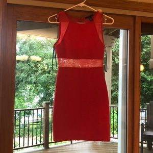 Coral/Red NWT Forever 21 Dress!